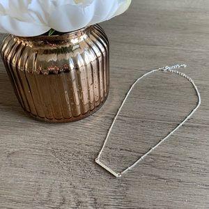 LC Lauren Conrad silver necklace 💗